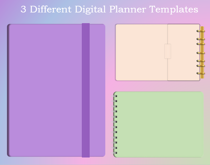 Digital Planner Template kit