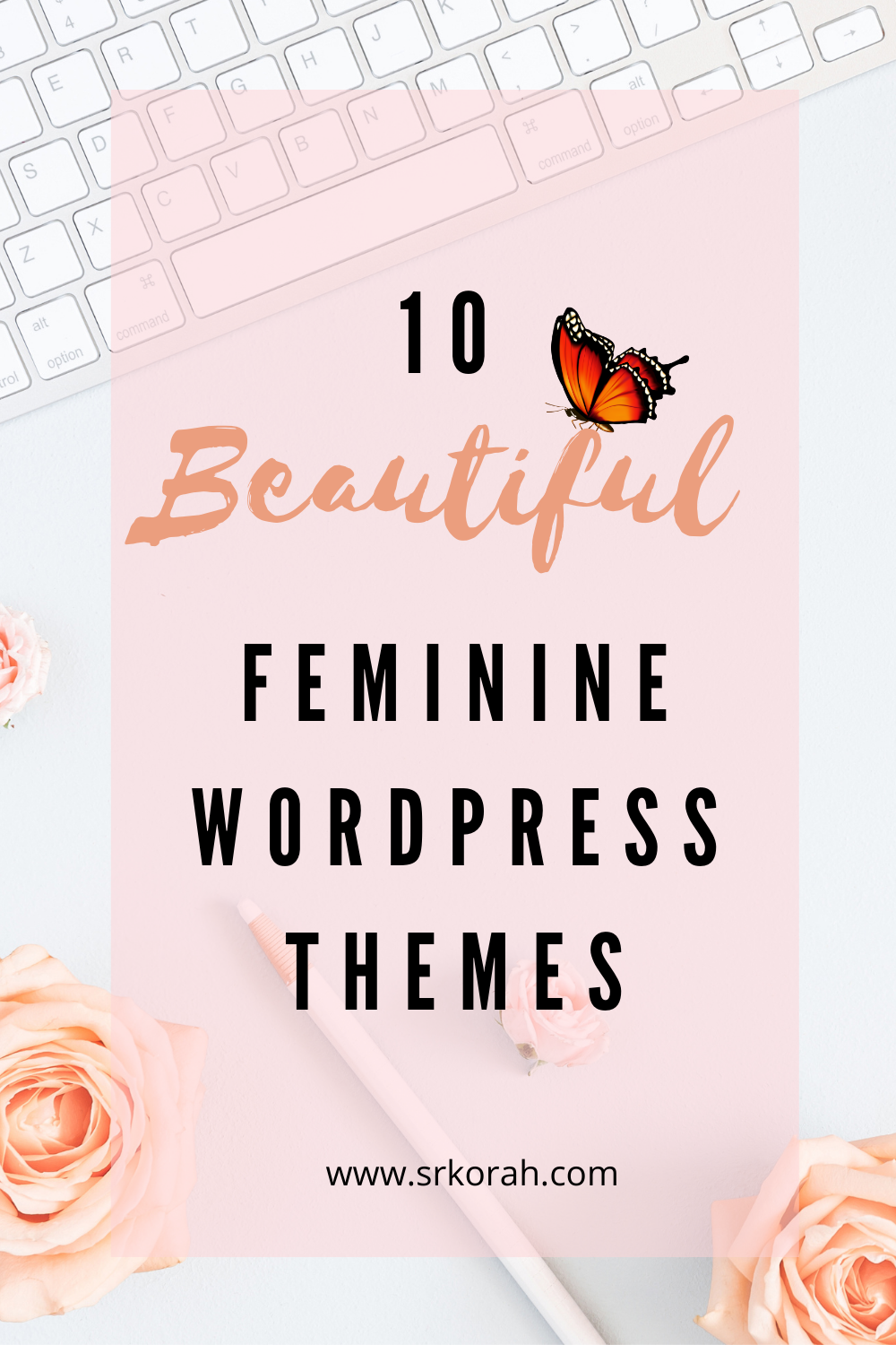 10 Beautiful Feminine WordPress Theme