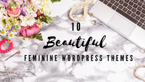 10 Beautiful feminine Wordpress Themes