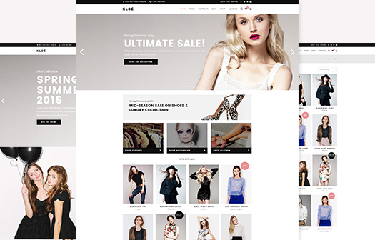 Kloe - Fashion & Lifestyle Feminine WordPress Theme