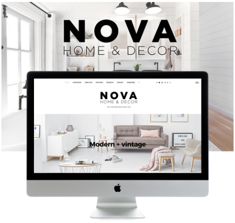 Nova - Magazine and Blog WordPress Theme