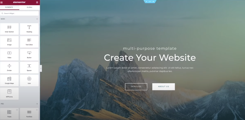 Create a website for beginners 2021